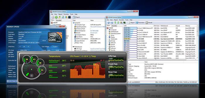 AIDA64: supporto per AMD Radeon 570-580 e Ryzen 12 e 16 core