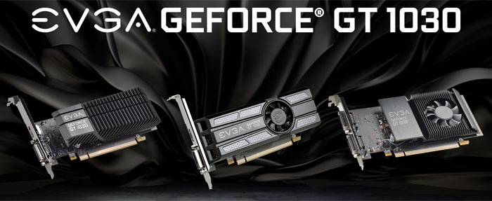 Nvidia partners introduce GeForce GT 1030 graphics cards
