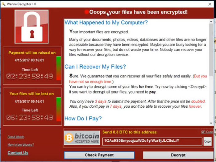 MeitY reaches out to RBI, others against Wanna Cry ransomware