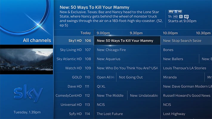 Qotw do you still watch live tv general feature - Can you watch sky box office on sky go ...