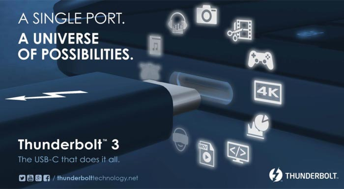 Intel pitches a Thunderbolt 3-for-all
