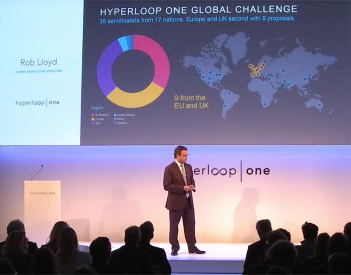Josh Giegel: Europe is the 'Perfect Region' for Hyperloop One