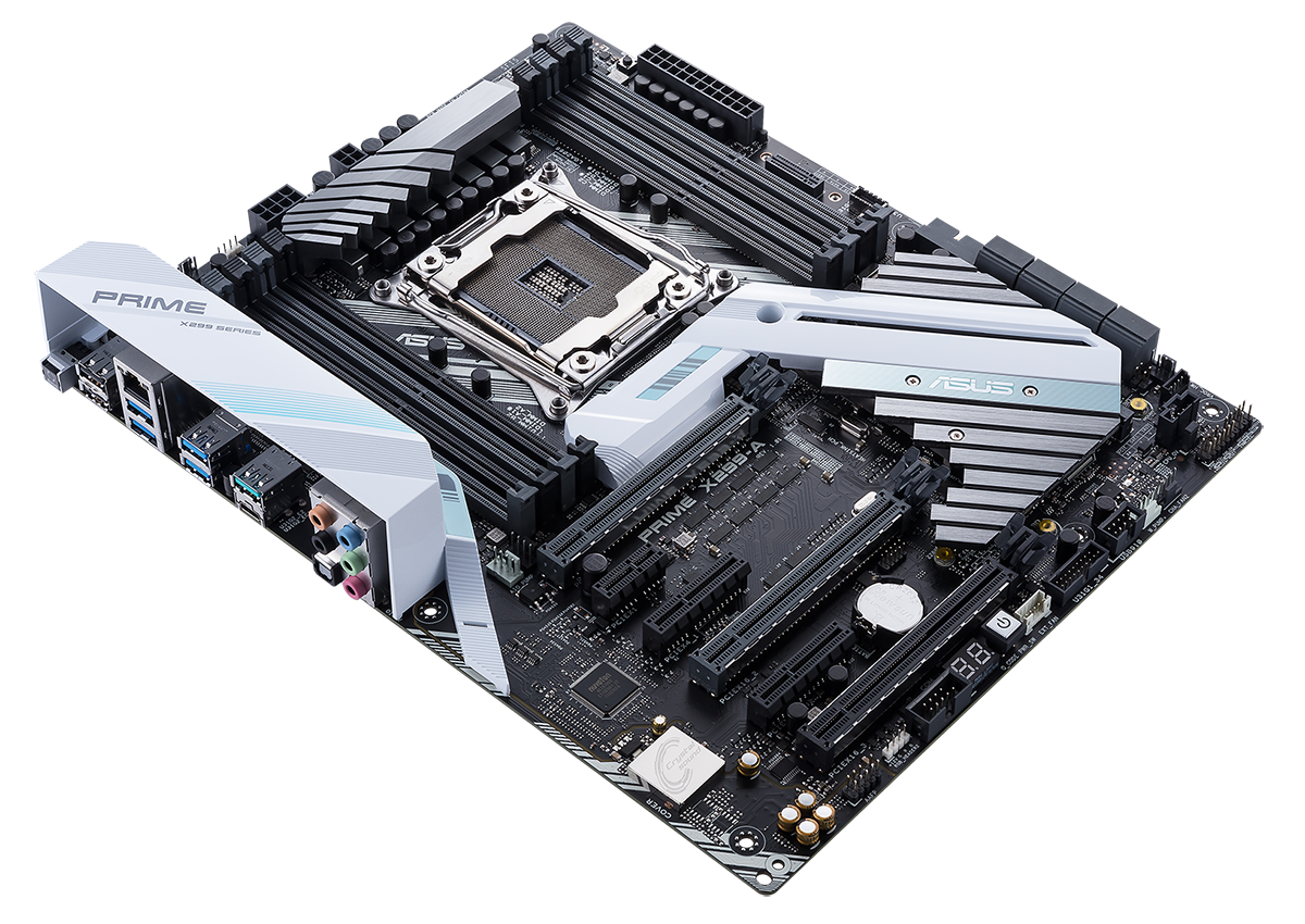 Review Asus Prime X299 A Mainboard Labeled Puter Parts Diagram Also Atx Motherboard With Labels Of The Cpu Socket Labelled C2 C1 D2 And D1 Plenty Room For Confusion So Be Sure To Check Chosen Meets Your Intended Usage Scenario