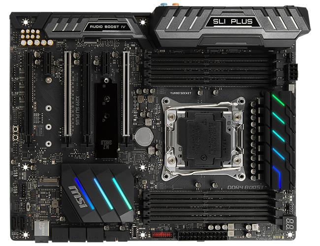 Review: MSI X299 SLI Plus - Mainboard - HEXUS net