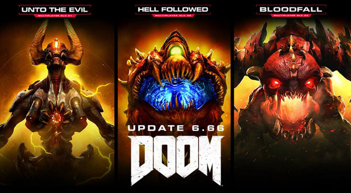 Doom Update 6.66 Today Makes All Multiplayer DLC Free, Adds New Progression System