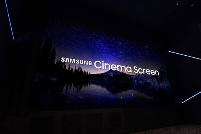 Samsung Launches New Cinema LED Display