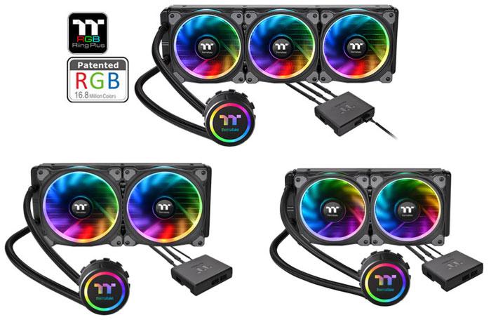 Thermaltake Floe Riing RGB TT Premium AiO coolers announced