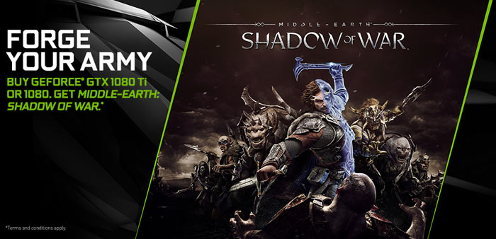 Nvidia's Middle-earth: Shadow of War bundle goes live - PC - News