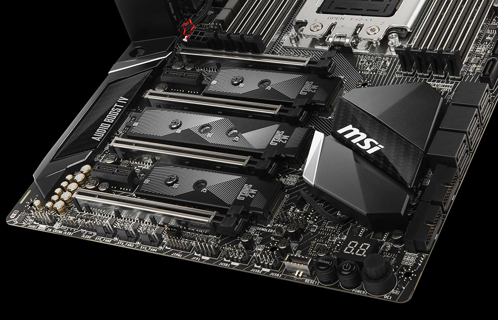 Review: MSI X399 Gaming Carbon Pro AC - Mainboard - HEXUS net