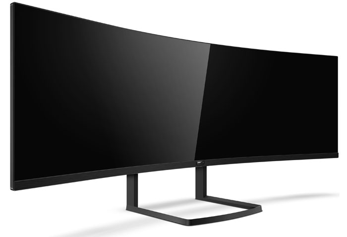 Philips Going Really Wide with their 492P8 Monitor
