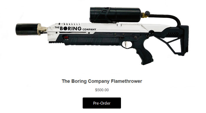 Elon Musk S Boring Flamethrower To Feature In Borderlands 3 Industry News Hexus Net Find and join some awesome servers listed here! elon musk s boring flamethrower to
