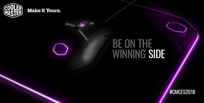 Cooler Master shows off its M800 gaming series peripherals