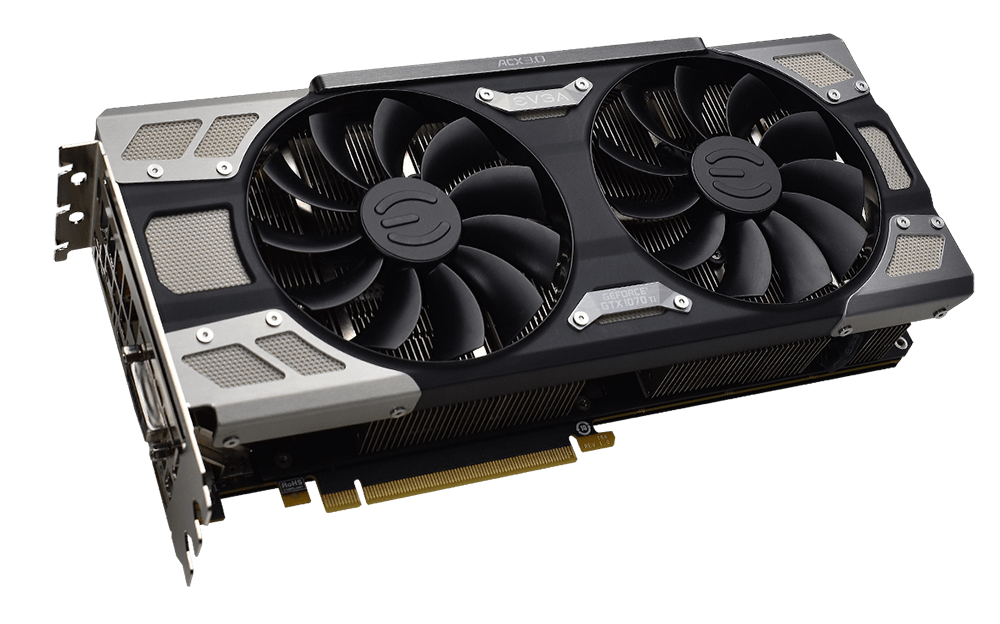 Review: EVGA GeForce GTX 1070 Ti FTW Ultra Silent - Graphics - HEXUS net