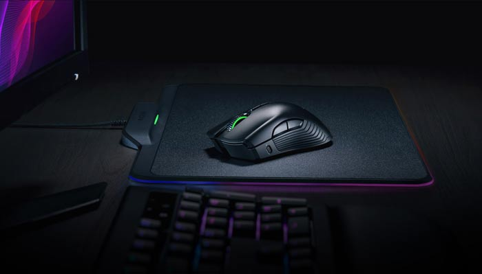 The Razer HyperFlux mouse gets its juice from a magic mousepad