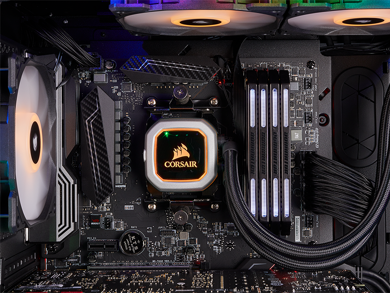 Review Corsair Hydro Series H150i Pro Rgb Cooling