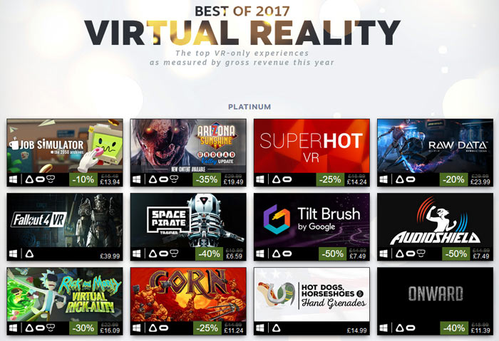 Steam reveals its top selling 100 games of 2017 - Industry