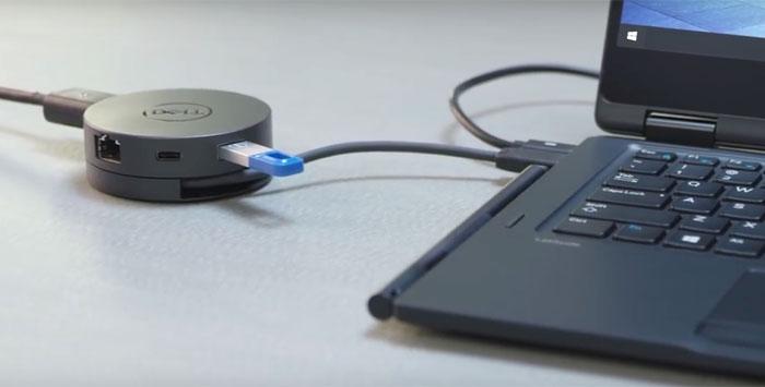 Dell shows off the DA300 USB-C mobile adaptor - Peripherals - News