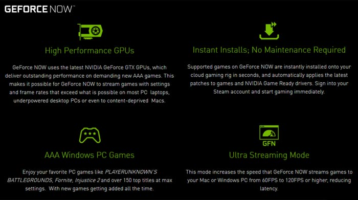 Nvidia opens GeForce NOW cloud gaming PC beta - Software - News