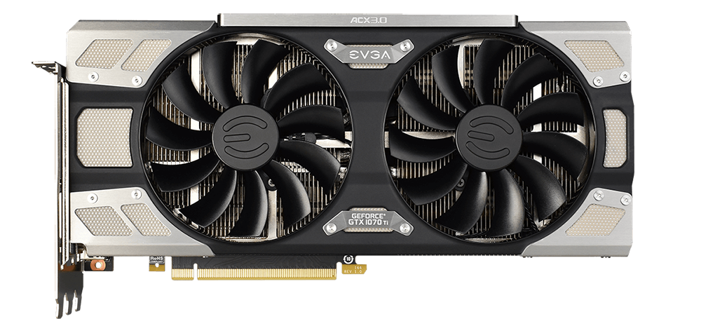 Review: EVGA GeForce GTX 1070 Ti FTW Ultra Silent - Graphics