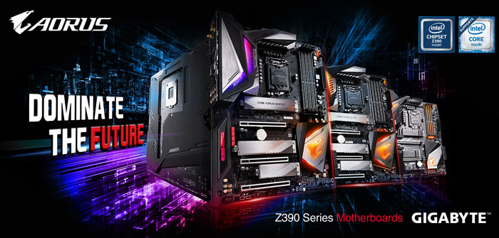 Gigabyte reveals its Z390 Aorus gaming motherboards - Mainboard