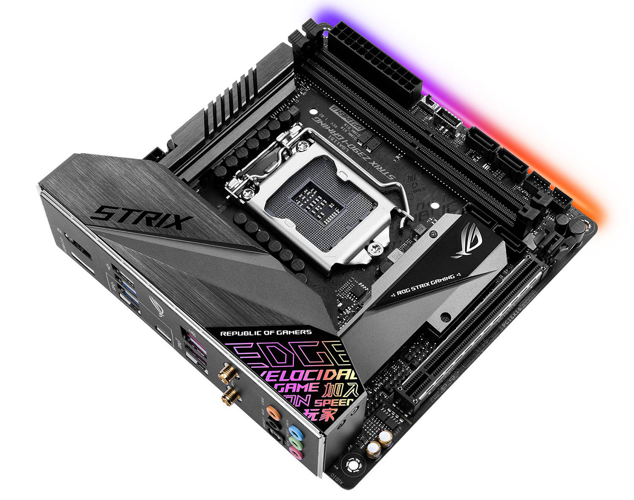 Review: Asus ROG Strix Z390-I Gaming - Mainboard - HEXUS net