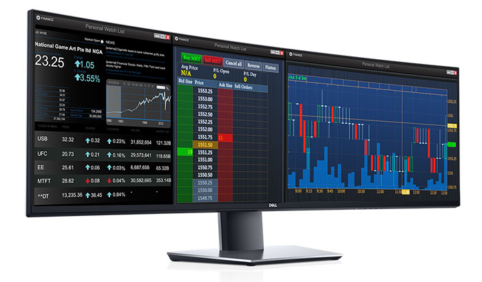 Dell UltraSharp 49 curved dual-QHD monitor launched - Monitors