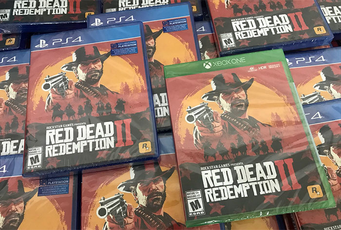 Red Dead Redemption 2 is 2nd biggest ents industry launch
