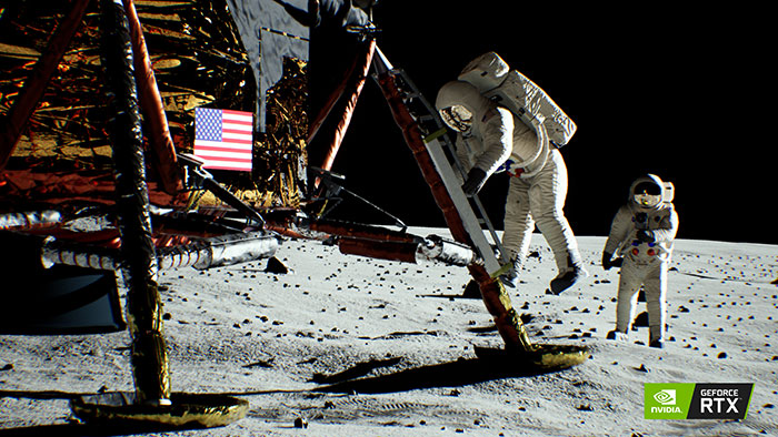 Nvidia releases Lunar Landing RTX real-time raytracing demo