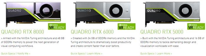 Pre-orders open for Nvidia Quadro RTX 5000 and RTX 6000