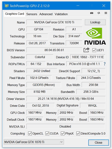 GPU-Z version 2 12 0 flags up fake Nvidia GPUs - Software - News