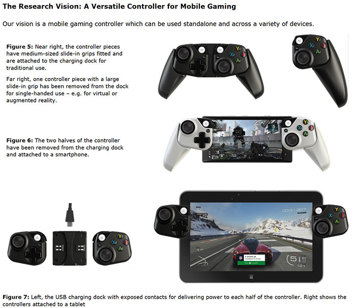 Microsoft prototyping Xbox controllers for use with mobile devices