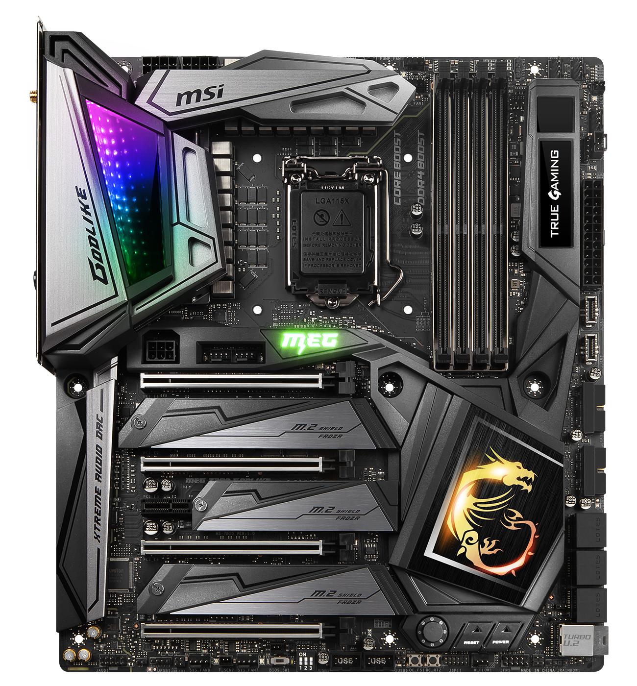 Review: MSI MEG Z390 Godlike - Mainboard - HEXUS net
