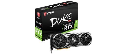 MSI announces quartet of GeForce RTX 2070 graphics cards