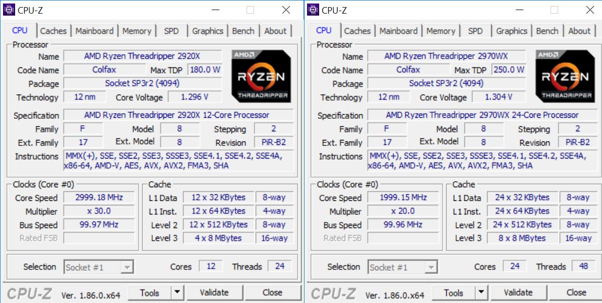 Review: AMD Ryzen Threadripper 2970WX and 2920X - CPU