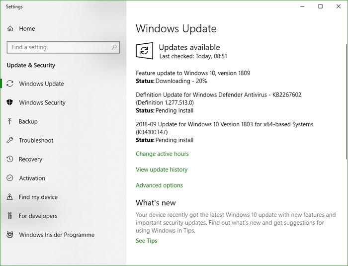 Windows 10 October 2018 Update roll out plans revealed