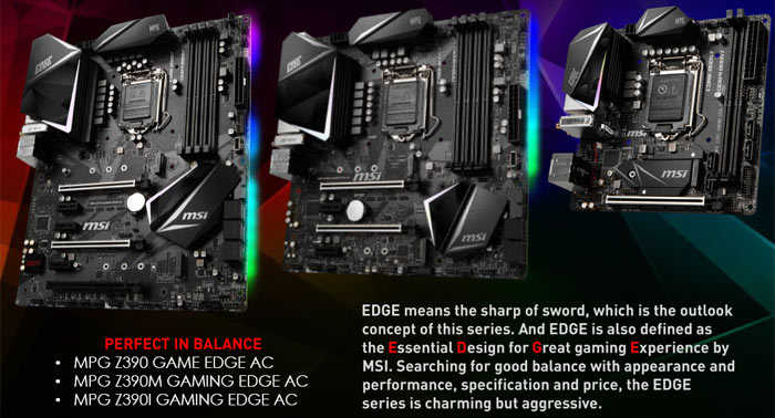 MSI launches its Intel Z390 motherboard range - Mainboard