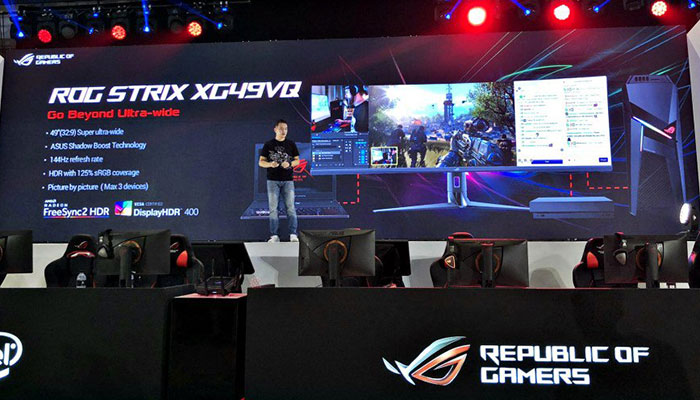 Asus ROG Strix XG49VQ 49-inch 1800R gaming monitor unveiled