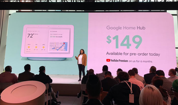 Google Home Hub is Just Another Smart Display