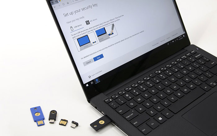 Microsoft Accounts Now Support Passwordless Login via FIDO 2 Security Keys