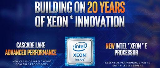 Intel announces 48 core Cascade Lake Xeon processors - CPU - News