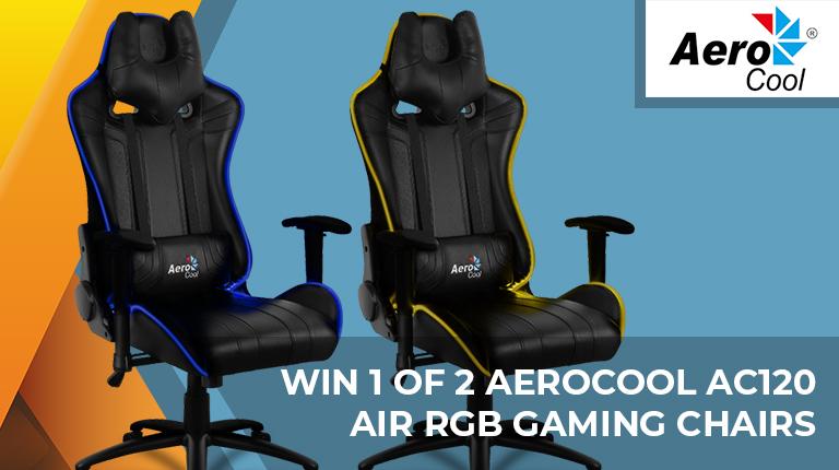Brilliant Day 2 Win An Aerocool Ac120 Air Rgb Chair Hardware Machost Co Dining Chair Design Ideas Machostcouk