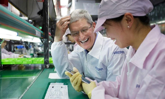 Foxconn to make high-end Apple devices in India