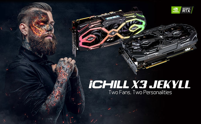 Inno3d launches iChill X3 Jekyll coolers on RTX 20 graphics cards