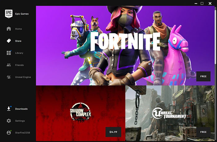 Epic Games Store takes aim at Steam with an 88:12 revenue