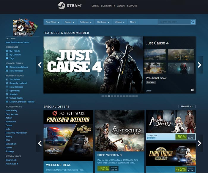 Valve to give larger publishers a greater Steam revenue