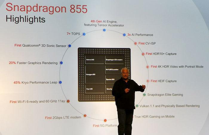 Qualcomm launches the Snapdragon 855 platform - CPU - News