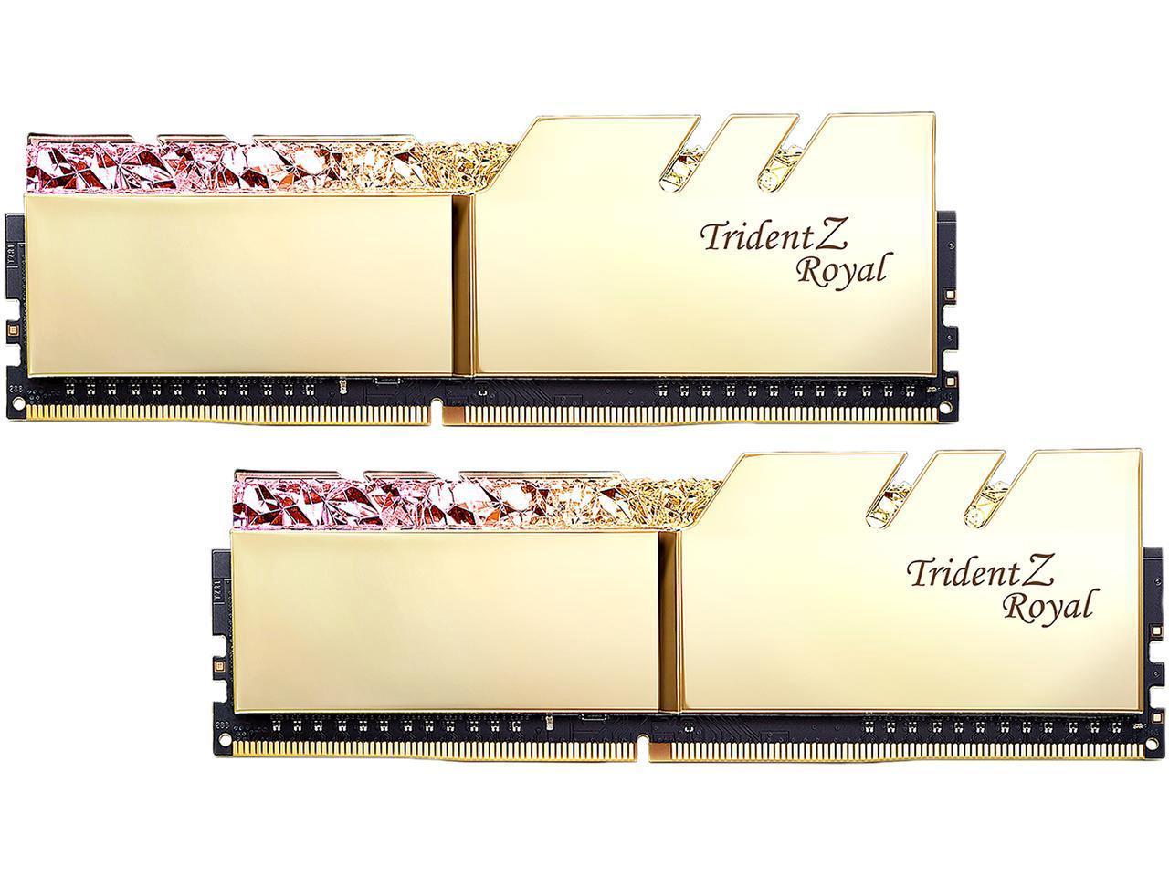Review: G Skill Trident Z Royal 16GB DDR4-3200 (F4-3200C16D
