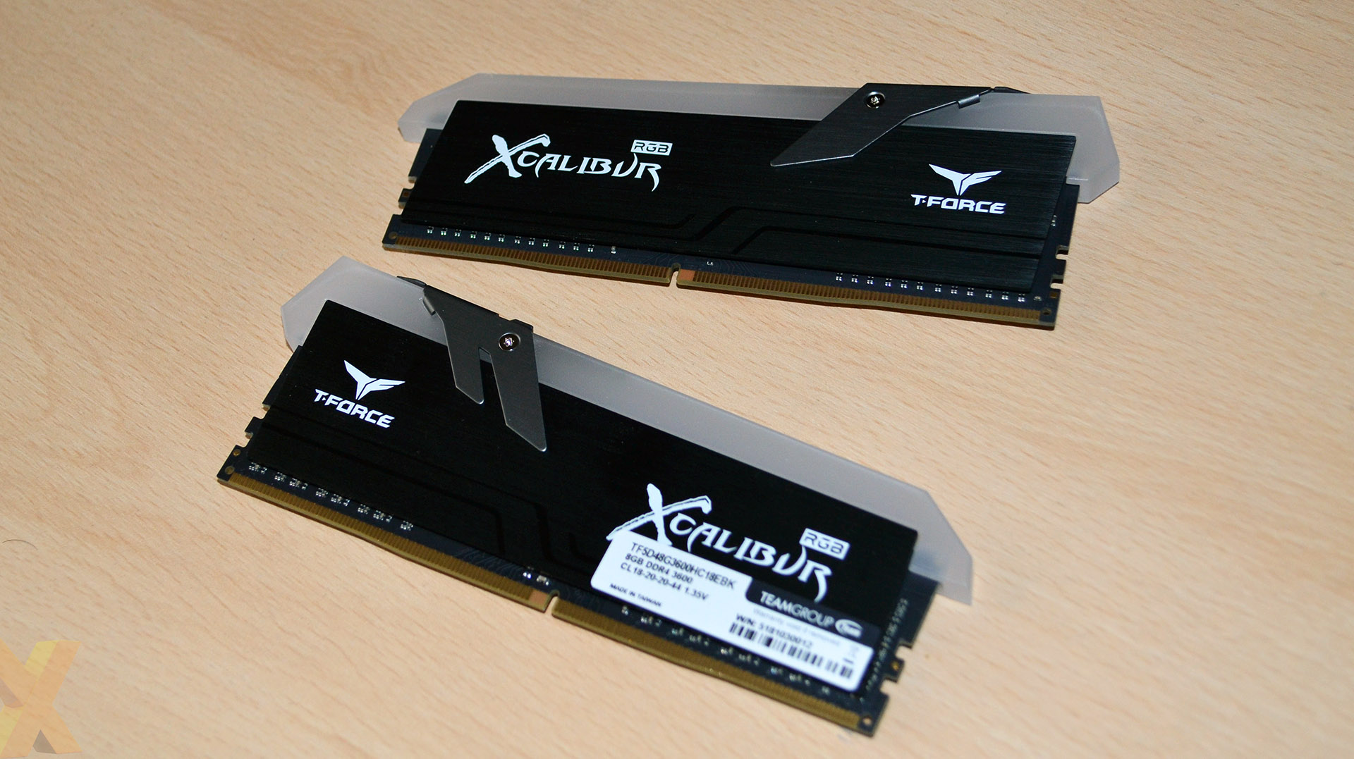 Review: Team Group XCalibur RGB 16GB DDR4-3600
