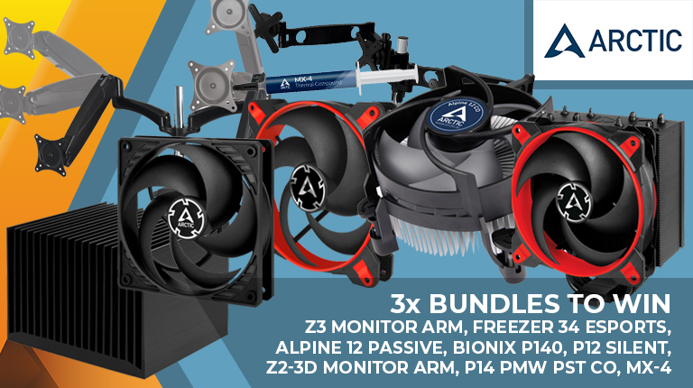 Day 24: Win one of three Arctic cooling bundles - Monitors