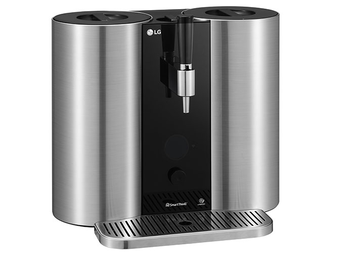 LG readies a capsule-based craft beer making machine for CES